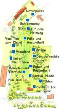 Barfusspfad-Karte
