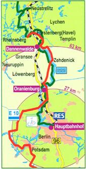 Anreise Dannenwalde